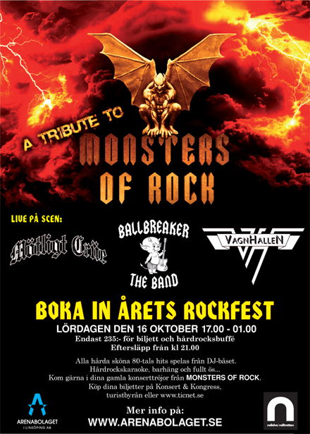 Tribute to Mosters of rock - 1984